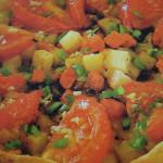 рецепт пицца овощная