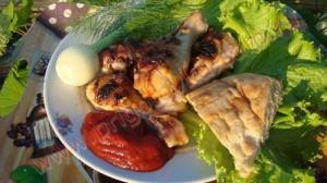 рецепт шашлыка из куриных ножек